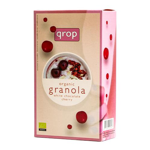 グラノラ ホワイトチョコレート&チェリー